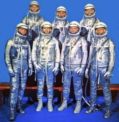 Mercury 7 astronauts|244