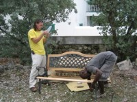Benches assembly 259