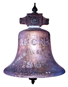 Murphy salvaged the bell and brought it back to Grand Turk. It is now in the bell tower in the Anglican church on South Caicos.